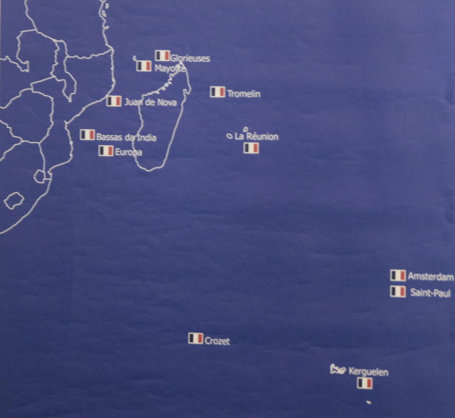 Carte Geographique De Locean Indien.Une Nouvelle Creation Politique France De L Ocean Indien Co